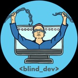 Telegram channel blind_dev_chat